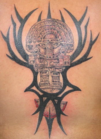 the gallery for ancient mayan tattoos and meanings. Black Bedroom Furniture Sets. Home Design Ideas